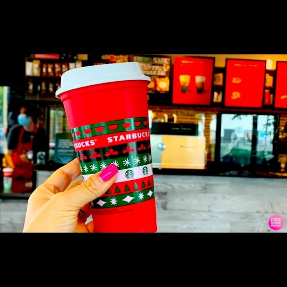 Starbucks Holiday Cup 16oz NWT